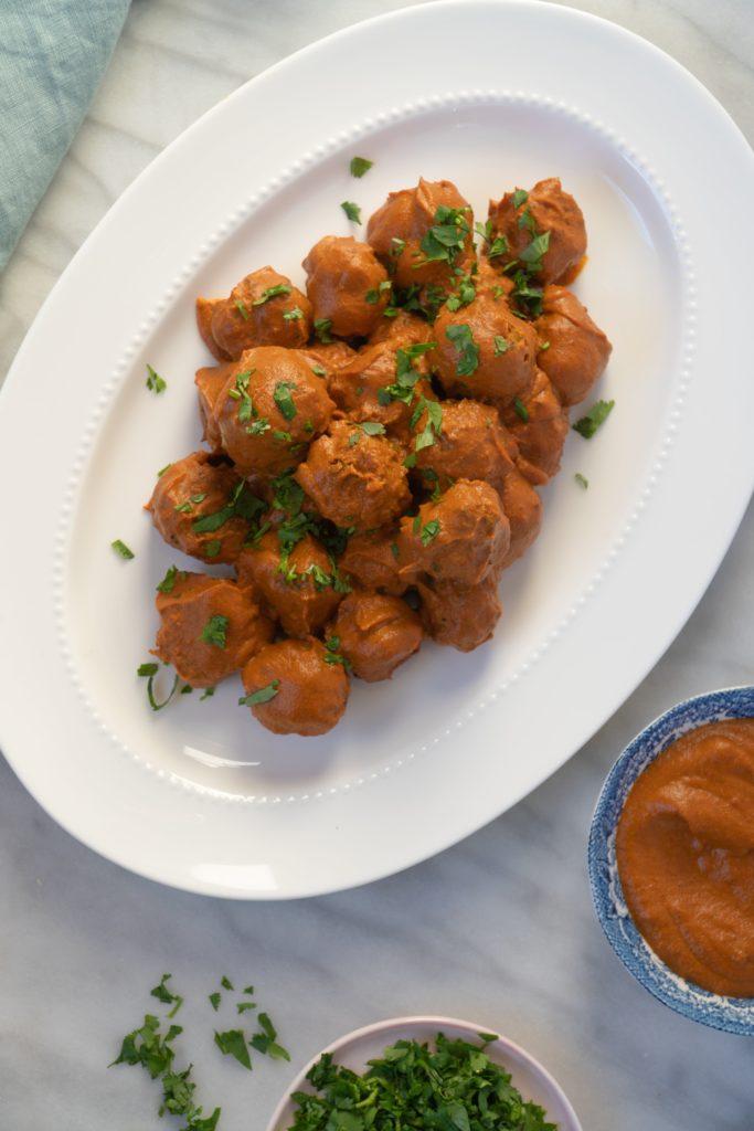 Chicken Tikka Masala Meatballs