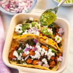 Kale and Sweet Potato Tacos